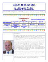The Knight Reporter- 2002-12