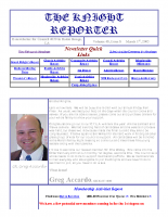 The Knight Reporter- 2003-03