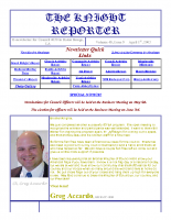 The Knight Reporter- 2003-04