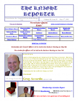 The Knight Reporter- 2003-05