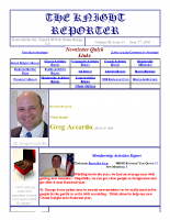 The Knight Reporter- 2003-06