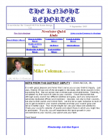The Knight Reporter- 2003-09