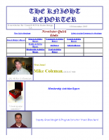 The Knight Reporter- 2003-12