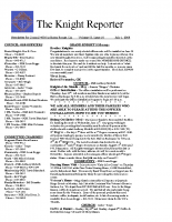 The Knight Reporter- 2008-07