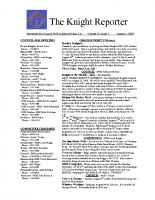 The Knight Reporter- 2008-08