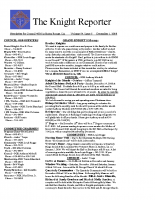 The Knight Reporter- 2008-12