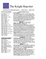 The Knight Reporter- 2009-03
