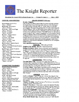 The Knight Reporter- 2009-05