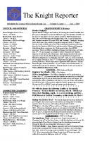 The Knight Reporter- 2009-07