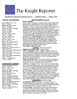 The Knight Reporter- 2009-08