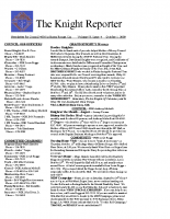 The Knight Reporter- 2009-10