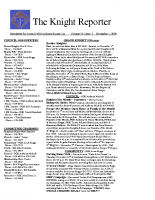 The Knight Reporter- 2009-11
