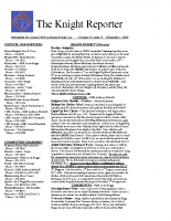 The Knight Reporter- 2009-12