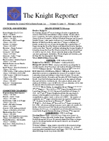 The Knight Reporter- 2010-02