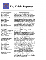 The Knight Reporter- 2010-03