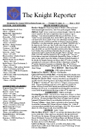The Knight Reporter- 2010-05