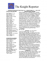 The Knight Reporter- 2010-06
