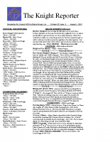 The Knight Reporter- 2010-08