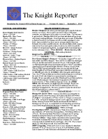 The Knight Reporter- 2010-09