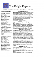 The Knight Reporter- 2010-10
