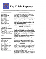 The Knight Reporter- 2010-12