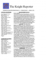 The Knight Reporter- 2011-01