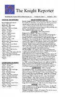 The Knight Reporter- 2011-02