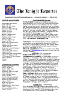 The Knight Reporter- 2011-05
