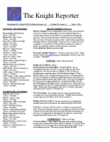 The Knight Reporter- 2011-06