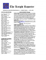 The Knight Reporter- 2011-07