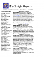 The Knight Reporter- 2011-08