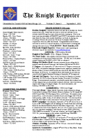 The Knight Reporter- 2011-09