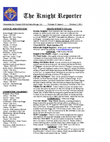 The Knight Reporter- 2011-10
