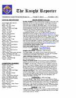 The Knight Reporter- 2011-11