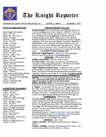 The Knight Reporter- 2011-12