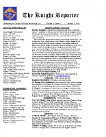 The Knight Reporter- 2012-01