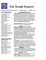 The Knight Reporter- 2012-02