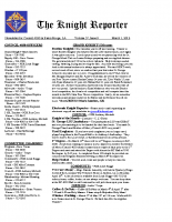 The Knight Reporter- 2012-03