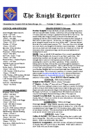 The Knight Reporter- 2012-05