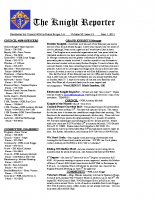 The Knight Reporter- 2012-06