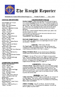 The Knight Reporter- 2012-07