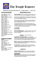 The Knight Reporter- 2013-06