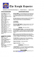 The Knight Reporter- 2013-07