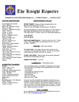 The Knight Reporter- 2013-10