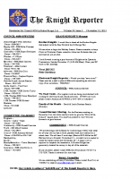 The Knight Reporter- 2013-11