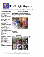 The Knight Reporter- 2014-02