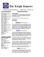 The Knight Reporter- 2015-02
