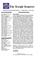 The Knight Reporter- 2015-07