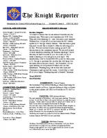 The Knight Reporter- 2015-11